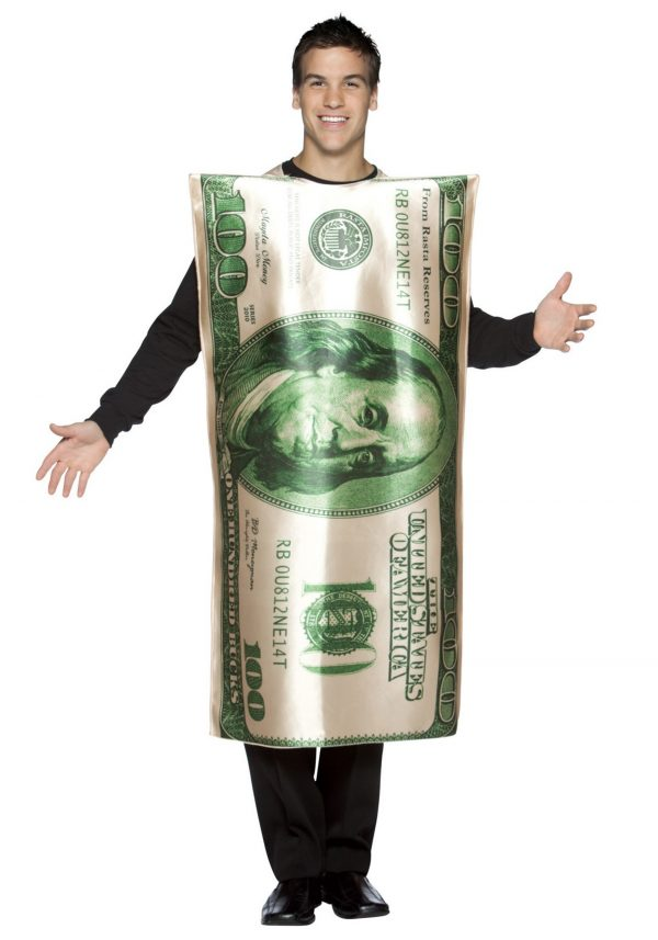 100 Dollar Bill Costume