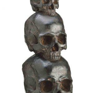 """12"""" Polyresin Stacking Skull"""