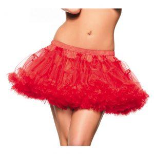 "12"" Red 2-Layer Petticoat"