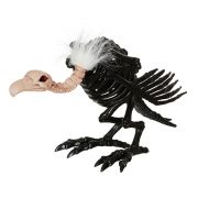 "14"" Black Skeleton Vulture"