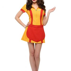 2 Broke Girls Waitress Costume