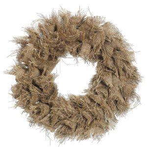"24"" Burlap Wreath"
