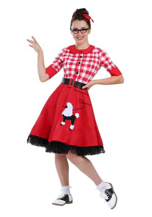 50s Darling Plus Size Women's Costume
