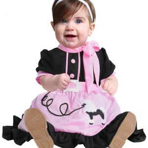 50s Poodle Skirt Infant Costume
