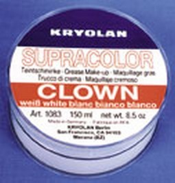 8.5 Oz. Clown White