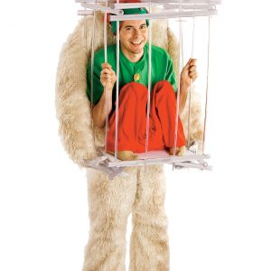 Abominable Snowman & Cage Costume Kit