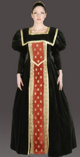 Adult 16th Century Queen Costume