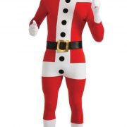 Adult 2nd Skin Santa Costume