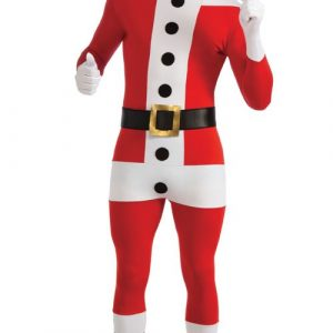 Adult 2nd Skin Santa Costume