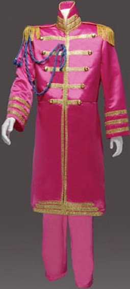 Adult 60's British Invasion Suit Costume - Magenta