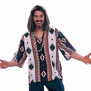 Adult 60's Peace Child Costume - Dashiki Only