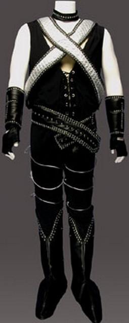 Adult 70's Rock Band Costume (Criss Cross)