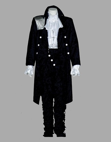 Adult 80s Rock Star Costume ? Black