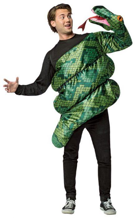 Adult Anaconda Snake Squeeze Costume