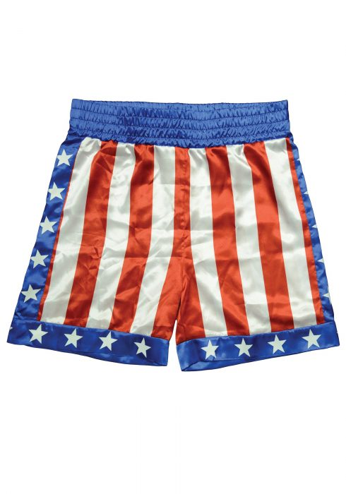Adult Apollo Creed Boxing Trunks