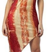 Adult Bacon Costume Dress