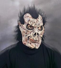 Adult Bad Skins and Robbins Demon Mask