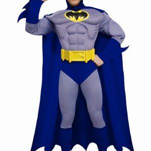 Adult Batman Muscle Costume