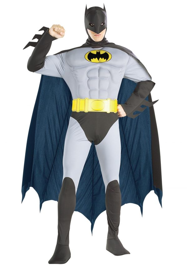 Adult Batman Muscle Costume