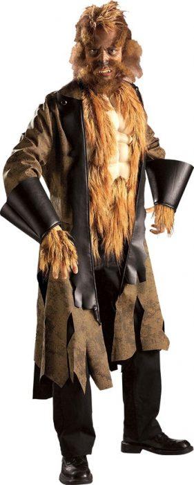 Adult Big Mad Wolf Costume