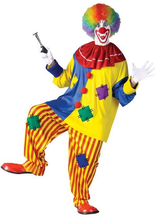 Adult Big Top Clown Costume