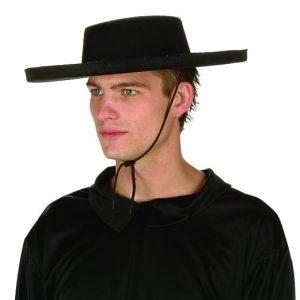 Adult Black Bandit Hat