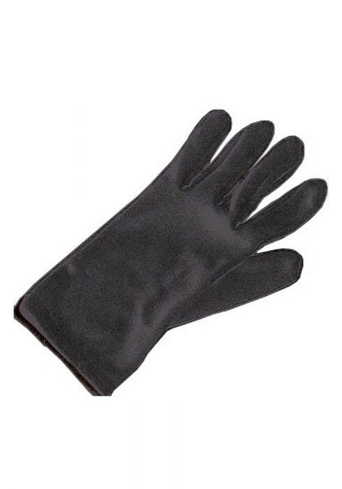 Adult Black Costume Gloves