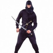 Adult Black Ninja Costume