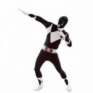 Adult Black Power Rangers Morphsuit