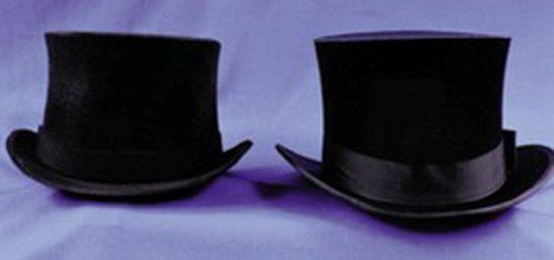 Adult Black Prince Charles Top Hat