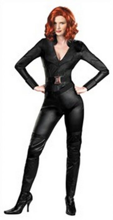 Adult Black Widow Avenger Jumpsuit