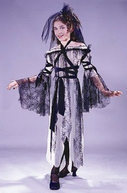 Adult Black Widow Bride Costume