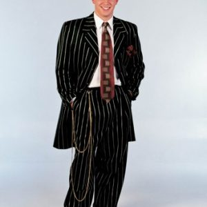 Adult Black Zoot Suit Costume