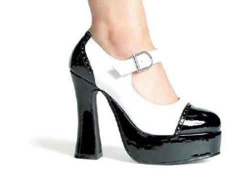 Adult Black and White Saddle Shoes