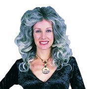 Adult Black/Grey Farrah Wig