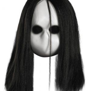 Adult Blank Black Eyes Doll Mask