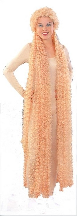 Adult Blond Lady Godiva Wig