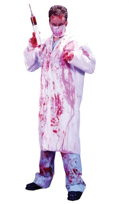 Adult Blood Covered Doctor Costume