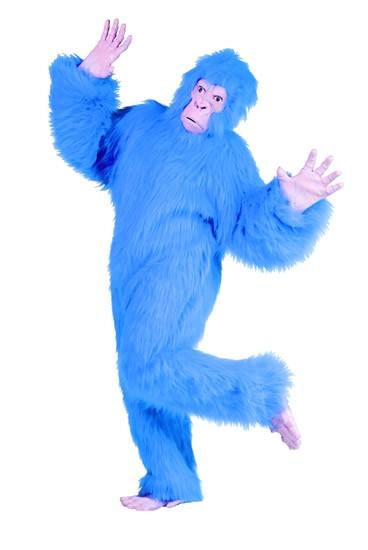 Adult Blue Gorilla Costume