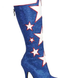 Adult Blue Hero Boots