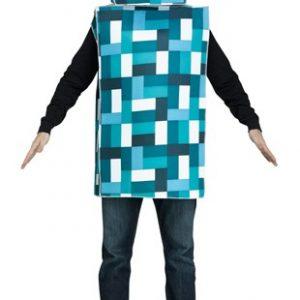 Adult Blue Monster Robot Costume