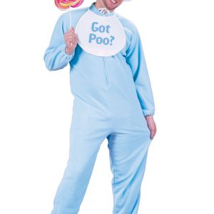 Adult Blue Pajamas Costume