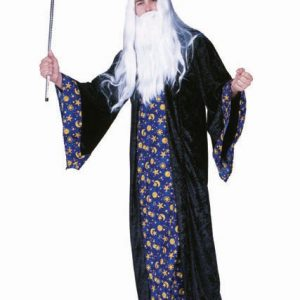 Adult Blue Wizard Costume