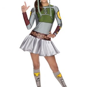 Adult Boba Fett Dress Costume