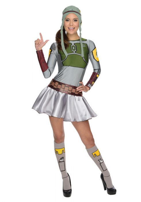 Adult Boba Fett Dress Costume
