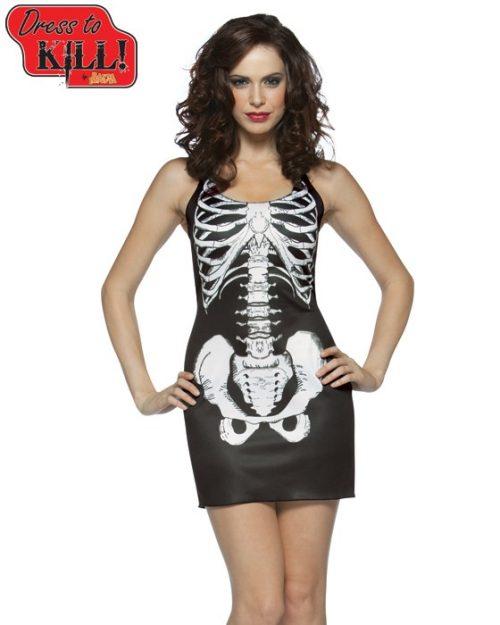 Adult Bones Tank Dress