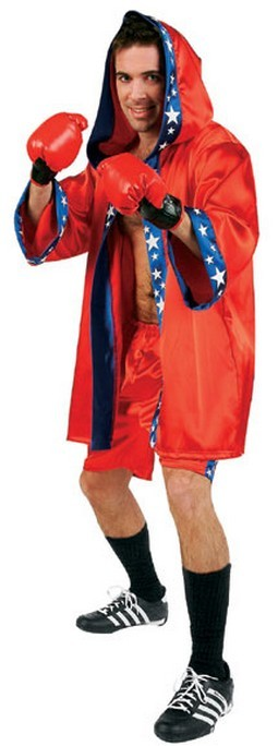 Adult Boxing Champion Costume