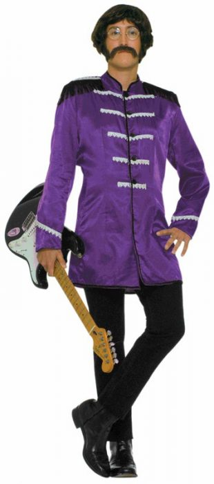 Adult British Explosion Costume - Purple