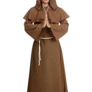 Adult Brown Monk Robe