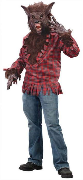 Adult Brown Werewolf Costume